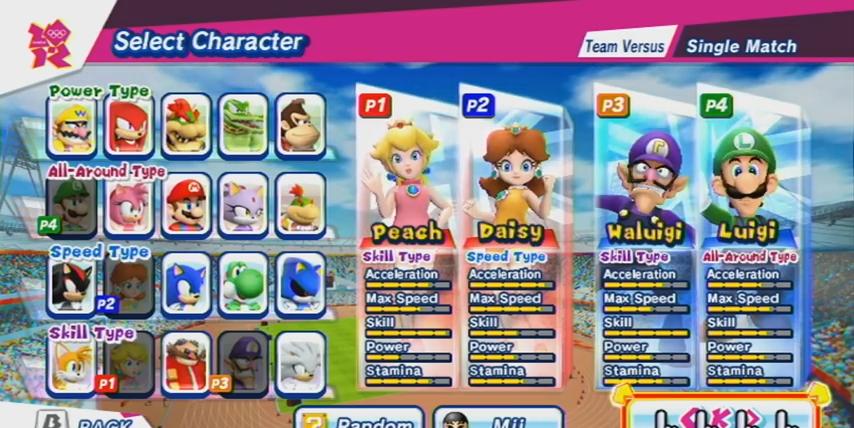 Le Volley Ball Dans Mario Sonic Aux Jo De Londres Wii